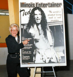 Ma Nugent and Illinois Entertainer poster