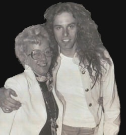 Ma Nugent and her son Ted NUgent