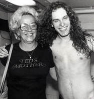 Ma Nugent and her son Ted Nugent, Photo; by Paul Natkin